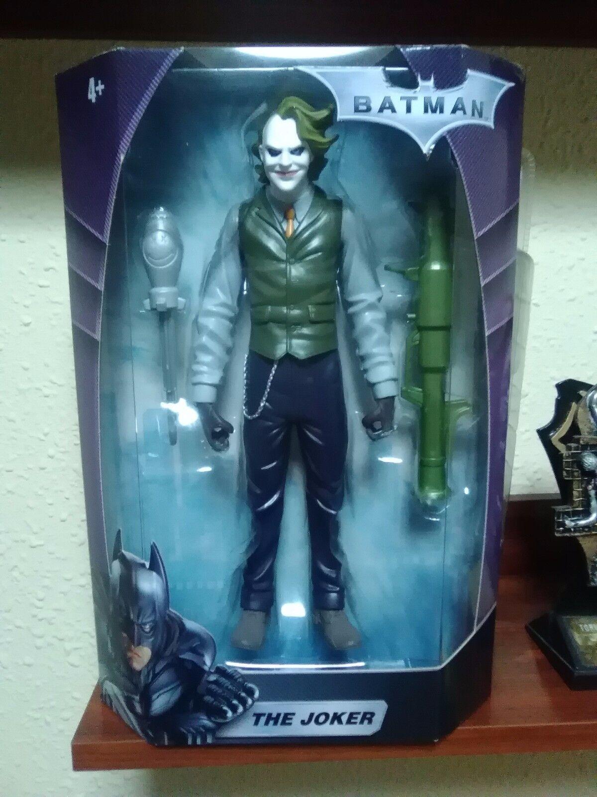 THE JOKER - BATMAN THE DARK KNIGHT - MATTEL - DC COMICS - NUEVA A ESTRENAR - NEW