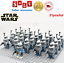 thumbnail 5 - 21pcs lot STAR WARS Clone Trooper Commander Fox Rex Mini toy building block