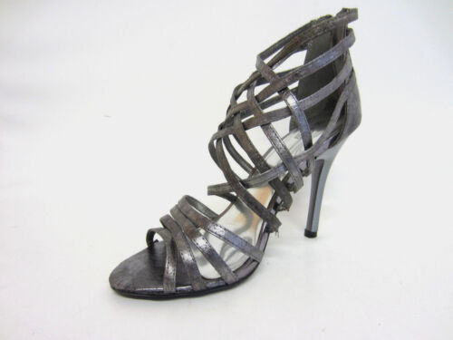 Spot On  Ladies Strappy Gladiator Shoes F1R504 R4A