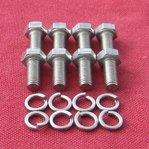 TRIUMPH-STAG-supporti-motore-per-bulloni-testa-esagonale-in-acciaio-inox