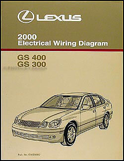 vehicle parts & accessories 2000 lexus gs 300 400 electrical wiring diagram  manual new original gs300 gs400 guidohof  guidohof