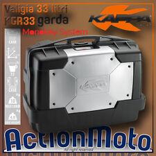 Kappa Garda KGR33 Bauletto Borsa Baule Valigia Rigida - Top Side Case 33 Litri