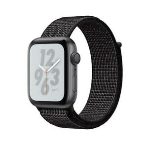 Apple Watch Nike+ Space Grey Aluminium  Black Loop 40mm MU7G2 Agsbeagle