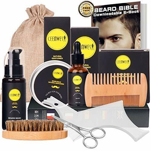 10 in1 beard grooming kit for men