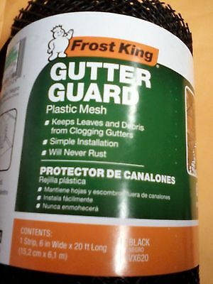 Frost King VX620 6x20 Plastic Gutter Guard