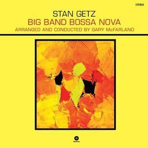 Stan-Getz-Big-Band-Bossa-Nova-New-Vinyl-Bonus-Track-180-Gram