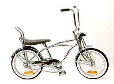 "20/"" Chrome Lowrider Bike 68 Spokes Coaster Brake New!"