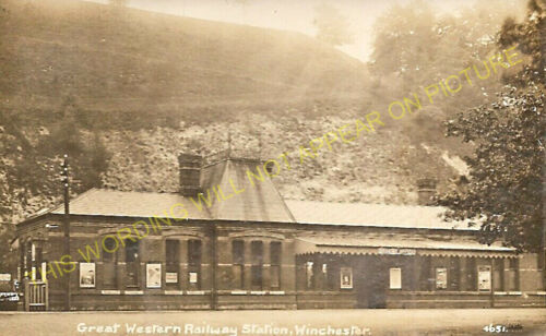 Winchester Chesil Railway Station Photo Great Western Railway. 28