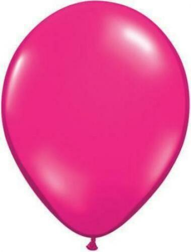 environ 40.64 cm Latex Ballons Rose Magenta Qualatex 16 in