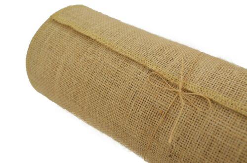 """Jucos 12/"""" Wide x10 Yards Burlap Table Runner for Saint Patricks Day Easters"""
