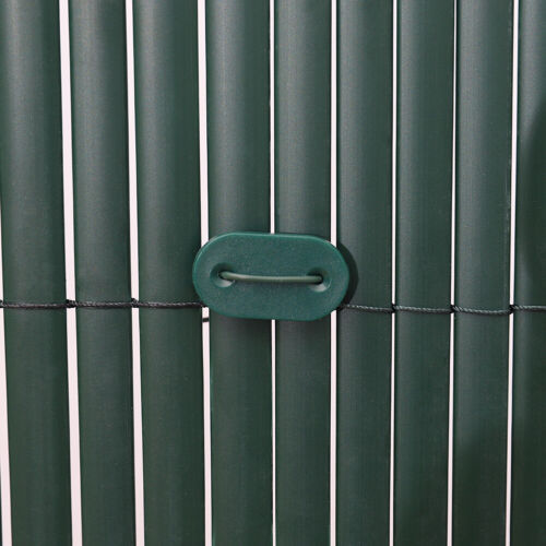 PVC Fence Screen Bamboo Mat Border Panel Covers Garden Wall Privacy 3 Colours UK