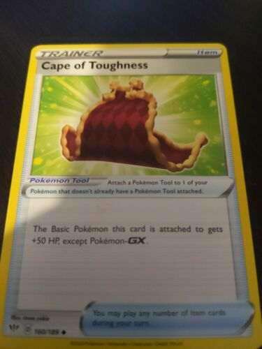 Pokemon Darkness Ablaze Cape Of Toughness 160/189