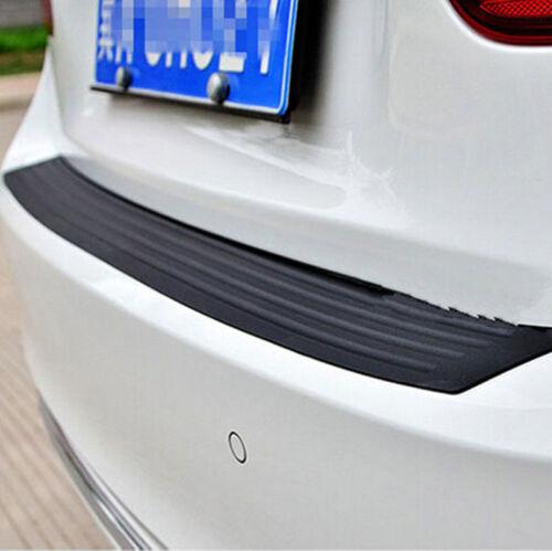 "35 /""schwarz SUV hinten Trunk Sill Plate Bumper Schutzfolie Gummi Pad CoverWR"