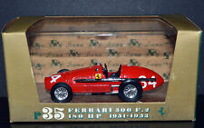 Vintage Brumm Italy r35 1/43 Scale Diecast Car 1951-53 Ferrari 500 F-2 180HP Red
