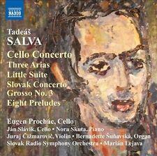 Cello Concerto/Three Arias/Little Suite/Slovak Con, New Music
