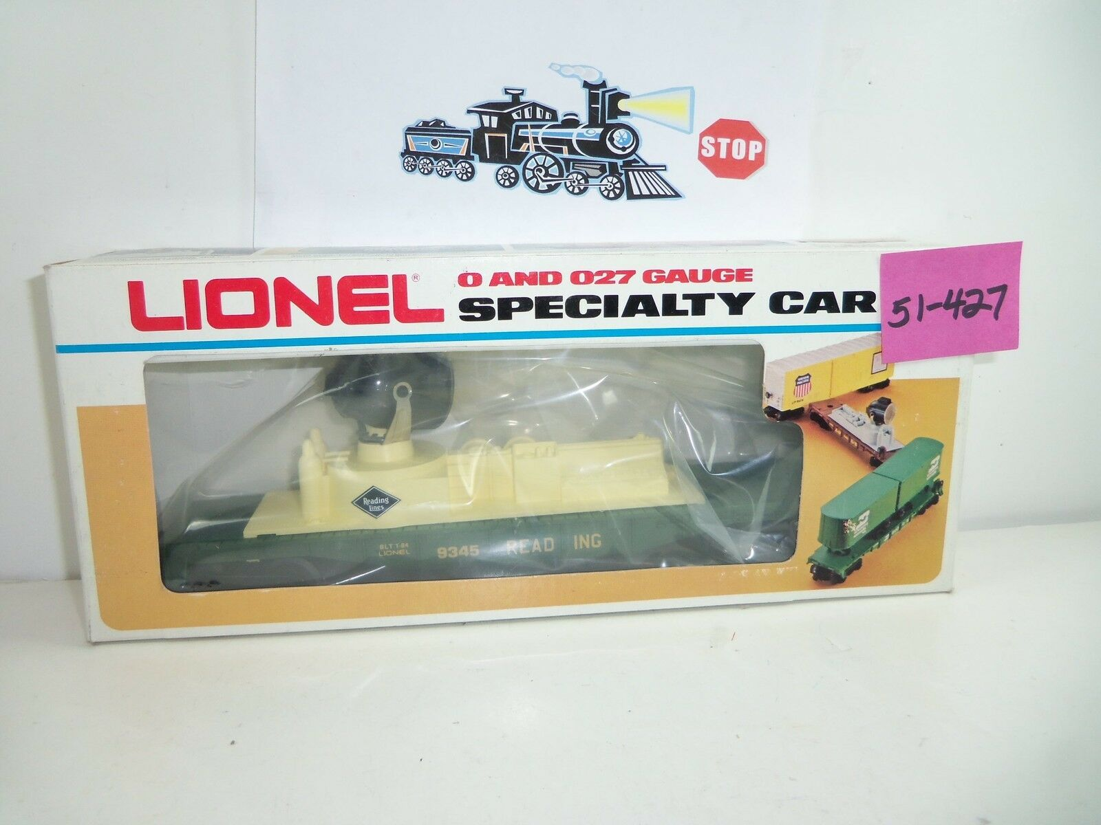 Lionel Reading Searchlight Car NOS 51-427