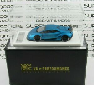 LB-Performance-RESIN-1-64-Scale-Matt-Blue-LAMBORGHINI-LB610-HURACAN-Liberty-Walk