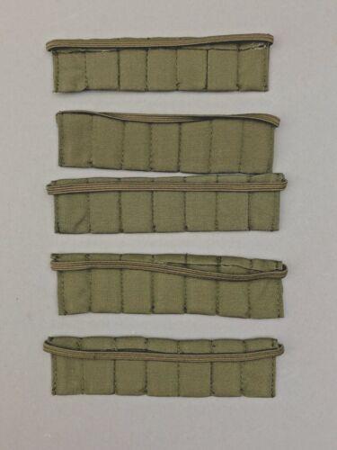 """5 21ST CENTURY TOYS Vert Militaire Munitions bandoulières échelle 1//6TH ou 12/"""" chiffres"""