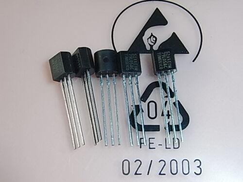 5V 100mA TO-92 5pcs Texas Instruments MC79L05ACLP Voltage Regulators