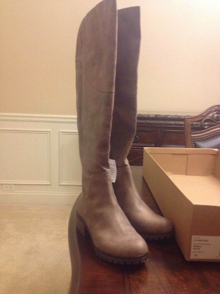 New Womens Lucky Brand LK-Harleen Brindle Rustik Tall Boots Size 6.5 M Wide Calf