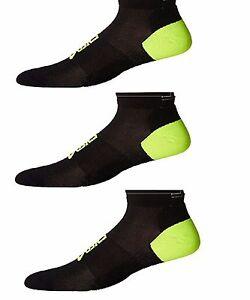 Details about Lot of 3 ASICS Lite Show Nimbus Low Cut Socks, Small