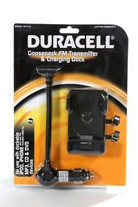 Duracell-FM-Transmitter-Phone-Car-Charging-Dock-I-phone-4-4s-I-pod-Touch-MP3