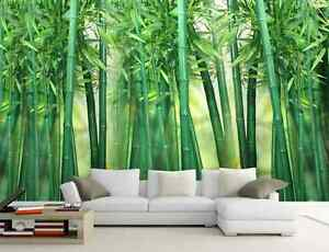 Details about 3D Fresh Green Bamboo Forest 36 Wall Paper Wall Print Decal  Wall AJ Wall Paper