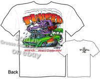Rat Fink T Shirt Mopar Pumped 70 Hemi Cuda 1970 Ed Roth Tee Sz M L XL 2XL 3XL