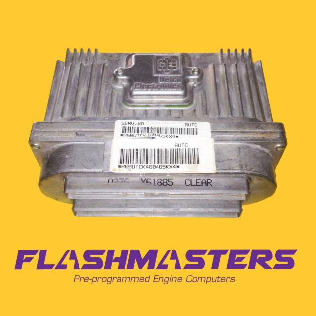 1997 Trans Sport Engine Computer 16217058  U0026quot Programmed To