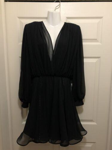 wayne clark dress L Black
