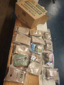 SOPAKCO MRE Emergency Preparedness Meal Ration 14-count Case