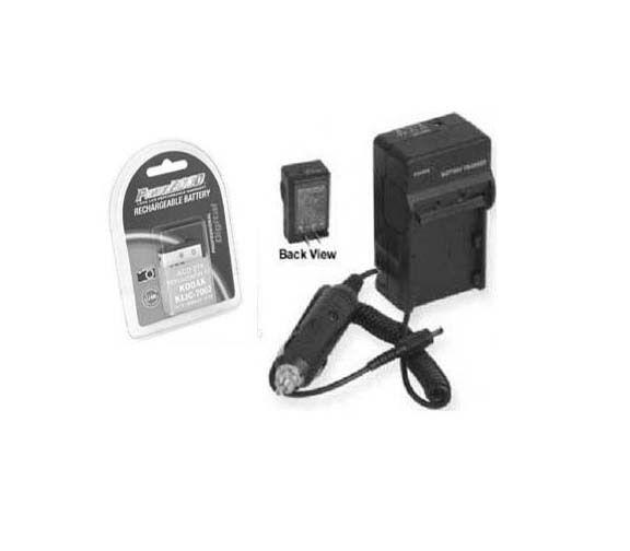 Battery + Charger for Kodak 1926450 KLIC-7003 KLIC7003