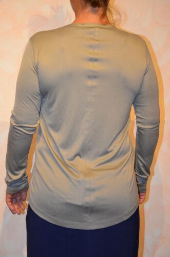 lunghe 44 maniche Girbaud a Satin Francois Marithé Mouse T taglia shirt Grigio 4qc8tEWnZ6