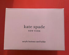 Kate Spade New York Business Card Holder For Women Stylish Clear Acrylic