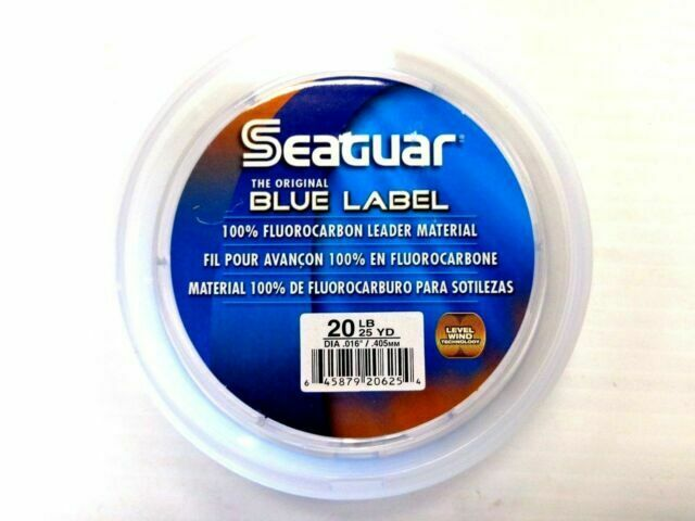 SEAGUAR BLUE LABEL FLUOROCARBON Leader 60lb-100yd NEW 60 FC 100 FREE USA SHIP!