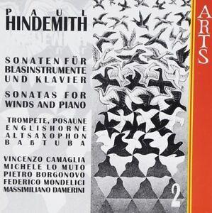 SPADA - SONATAS PIANO-WINDS VOL.2 CD NEW! HINDEMITH,PAUL - Weinstadt, Deutschland - SPADA - SONATAS PIANO-WINDS VOL.2 CD NEW! HINDEMITH,PAUL - Weinstadt, Deutschland