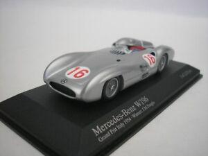 Mercedes Benz W196 #16 Gp Italy 1954 J.M.Fangio 1/43 minichamps 432543016 New