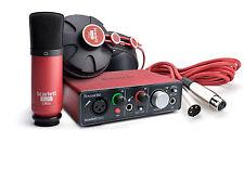 Focusrite Scarlett Solo Studio Pack - USB 2.0 Audio Interface