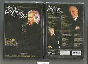 CHARLES-AZNAVOUR-CONCERT-AU-PALAIS-DES-CONGRES-2000-32-TITRES-DVD-NEUF