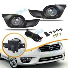 New For Nissan 2013-2015 Altima Sedan Accessory Fog Light Kit Lights Left+Right