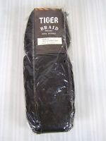 Tiger Braid Hand Braided Synthetic Hair Piece 24 Black