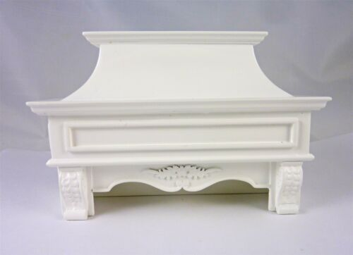 Dollhouse Miniature Elegant White Corner Kitchen Stove Hood P5099
