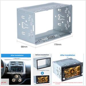 Universal-2-DIN-Fascia-Mounting-Dash-Kit-For-Car-Radio-DVD-Stereo-Installation