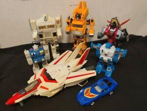 Transformers G1 Jetfire Slag Tracks Grapple VINTAGE Lot