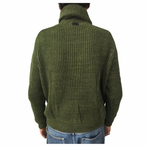 L84wamdf Homme 100 Premium Anglais 101 Vert Châle Pull Côtelé Coton Lee gHZYFA