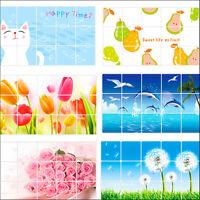 Aluminum Foil Decals Oil proof Stickers Keep Decor Kitchen Wall Paper 45CM*75CM