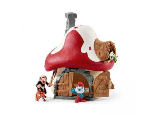 SHL20803 Maison avec 2 figurines Accessoire de l/'univers des SCHTROUMPFS