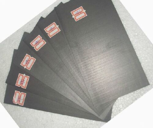 5pcs High Purity 99.99/% Graphite Electrode Rectangle Plate 50*40*3mm