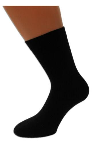 8 Paar Herren Business Socken schwarz Herrensocken handgekettelt ÖkoTex Gr 43//46