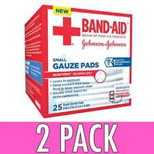 Buy Band Aid First Aid Small Gauze Pads 2 X 2 Inch 25 Count Online